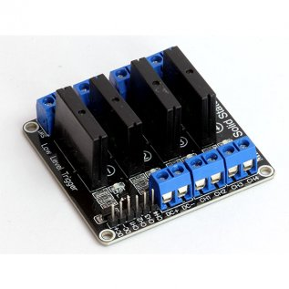 4-Channel Solid-State Relay