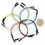 "Jumper Wires Premium 6"" F/F Pack of 10"