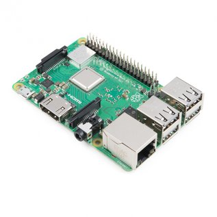 Raspberry pi 3 B+ with 1.4GHz Quad core processor