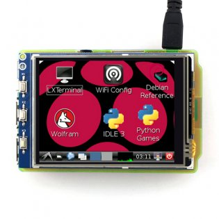3.2 inch Touch Display for Raspberry Pi-Waveshare