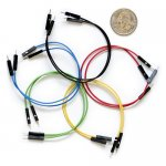 "Jumper Wires Premium 6"" M/M Pack of 25"