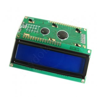 16x2 Character LCD STN -White on Blue