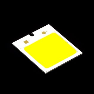 4W 48LED COB Chip with Heatsink- Warm white(DC 12V)