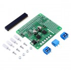 Dual TB9051FTG Motor Driver for Raspberry Pi (Partial Kit)