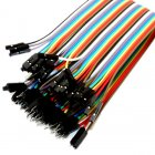 Premium Female/Male Jumper Wires - 40 x 8""