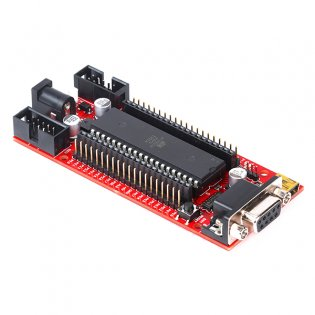 AT89S52 Quickstart Board V2