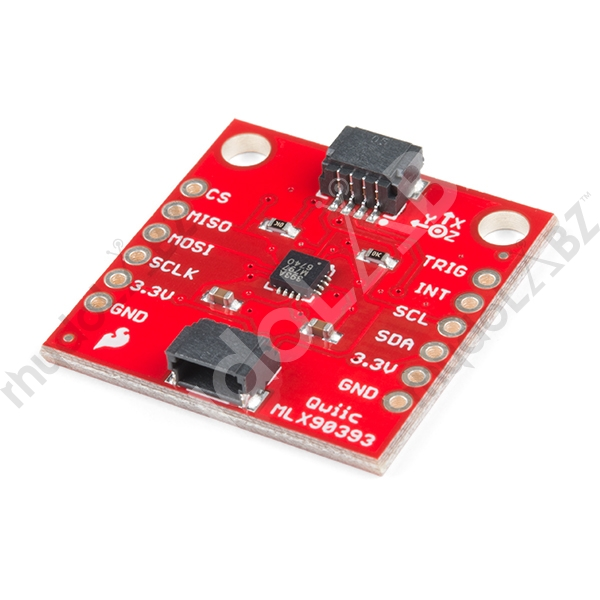 Sparkfun Triple Axis Magnetometer Breakout - Mlx90393 (Qwiic) - Click Image to Close