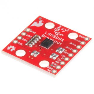 9 Degrees of Freedom IMU Breakout- LSM9DS1(Orginal Sparkfun-USA)