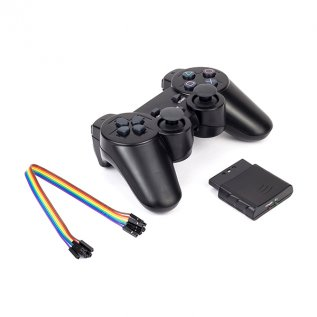 PS2 Wireless Remote 2.4GHz(Analog Controller+Receiver)