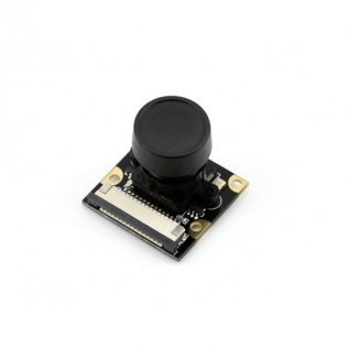 5MP Camera For Raspberry Pi, Fisheye Lens and Night Vision (H)