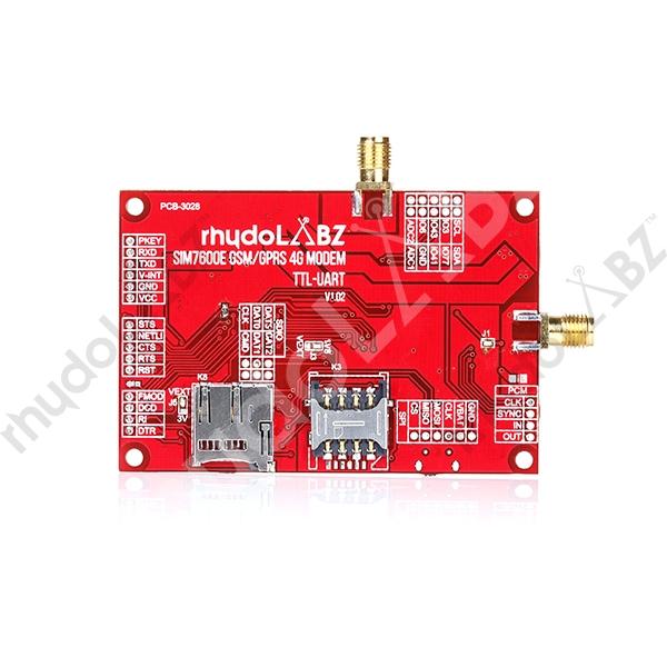 SIM7600E 4G/GSM/GPRS/GPS UART modem-rhydoLABZ : rhydoLABZ INDIA