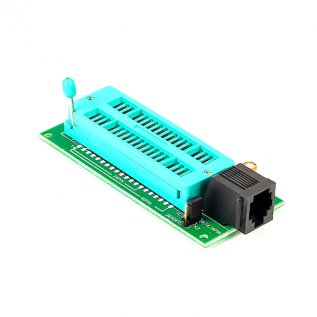 40 Pin Zif Socket Board (Pickit2 Compatible)