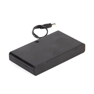 Battery Holder with Switch- 8 x AA