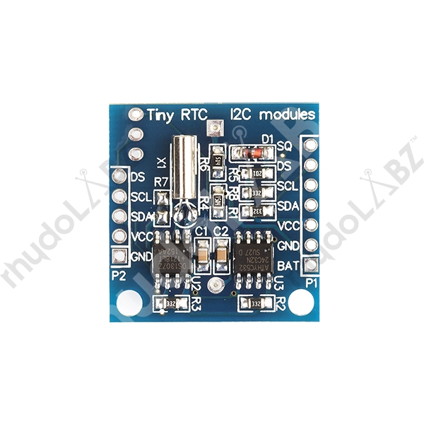Tiny RTC Module Compatible With Arduino- I2c With Out