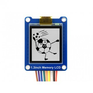 1.3inch Bicolor LCD with Embedded Memory, Low Power