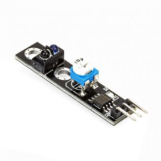 Black / White Line Follower Sensor For Arduino