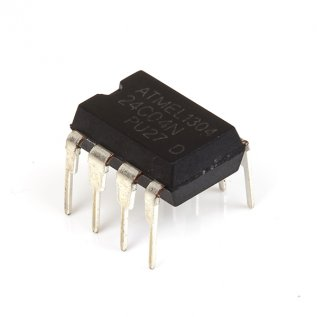 24C04 Serial EEPROM IC (PDIP)