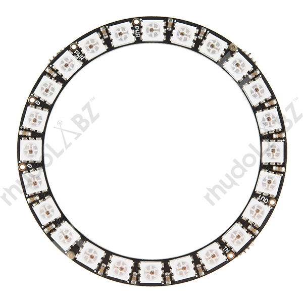 NeoPixel Ring - 24 x WS2812 5050 RGB LED NeoPixel Ring - 24