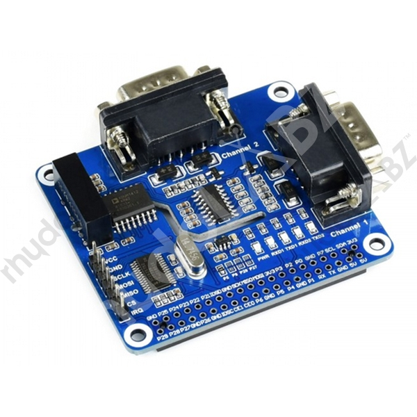 2-Channel Isolated RS232 Expansion HAT for Raspberry Pi - Click Image to Close