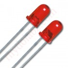 LED 3MM Red (50 Nos. Pack)
