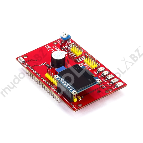 User Interface Shield With 0 96 SPI / I2C OLED Display