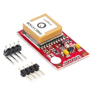 GPS Receiver with Antenna (5V TTL SERIAL)