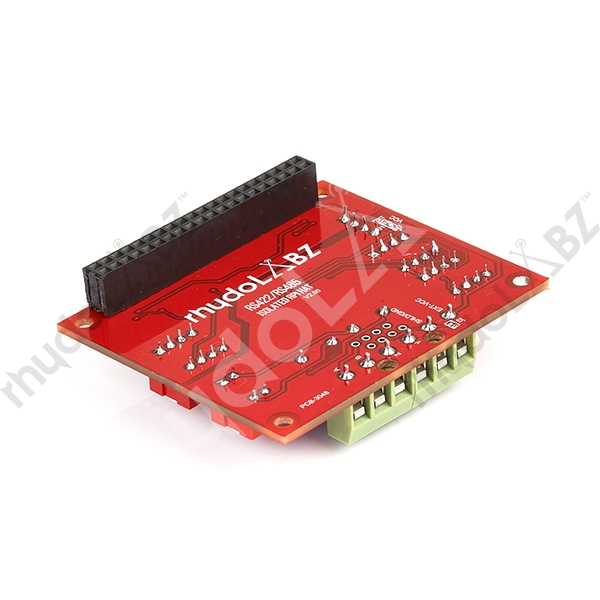Isolated RS485/RS422 Raspberry Pi HAT - rhydoLABZ