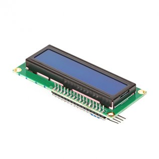 16X2 Character I2C LCD Module With Blue Light(1602A)
