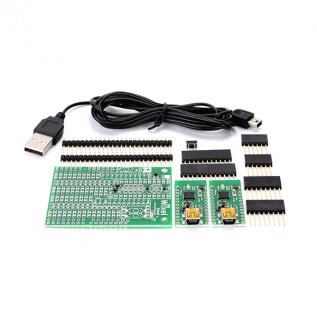 Wixel Shield for Arduino + Wixel pair +USB cable