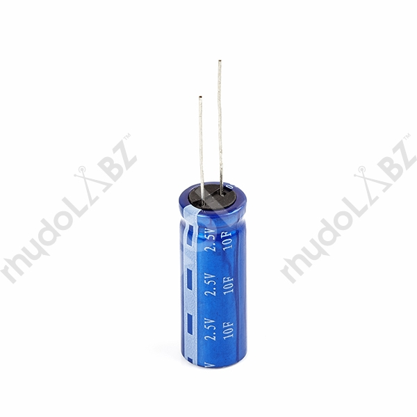 Super Capacitor - 10F/2 5V : rhydoLABZ INDIA