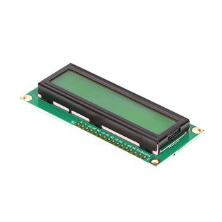 16x2 Character LCD Display Module With Yellow Light(1602)