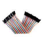 Premium Male/Male Jumper Wires - 40 x 8""