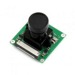 5MP Camera for Raspberry Pi with Adjustable Focus