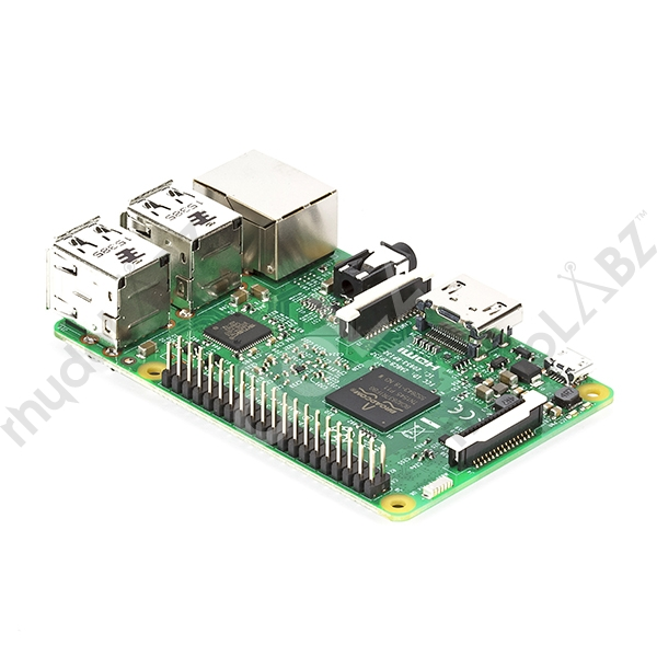 Raspberry Pi3 with Built-in WiFi and Bluetooth LE [RAS-2786