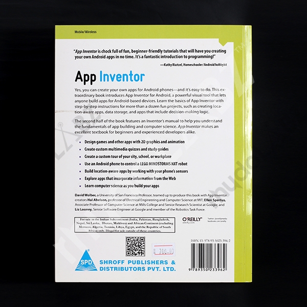 App Inventor - Create Your Own Android Apps