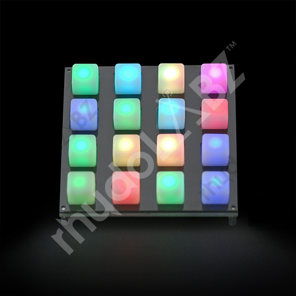 Button Pad 4x4 - LED Compatible - Click Image to Close