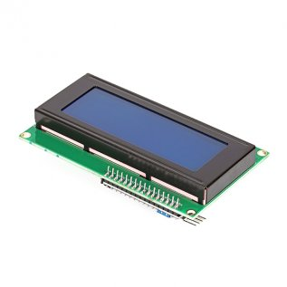 20X4 Character I2C Lcd Module With Blue Light