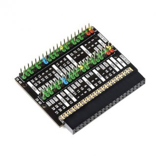 Raspberry Pi 400 GPIO Header Adapter (B), 2x 40 Pin- Waveshare
