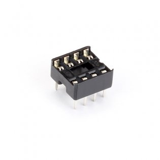 IC Base- 8- Pin