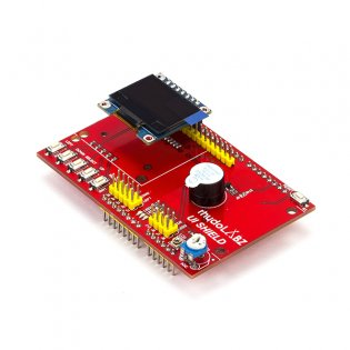 User Interface Shield With 0.96 Inch SPI OLED Display Module