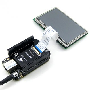 4.3 Inch Touch LCD Cape for BeagleBone Black