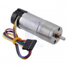 227:1 Metal Gearmotor 25Dx71L mm MP 12V with 48 CPR Encoder