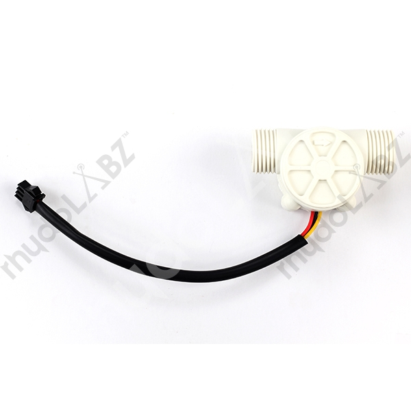 Water Flow Sensor - White (Hall Sensor based) [SEN-2607] : rhydoLABZ