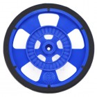 Solarbotics GMPW-LB BLUE Wheel with Encoder Stripes