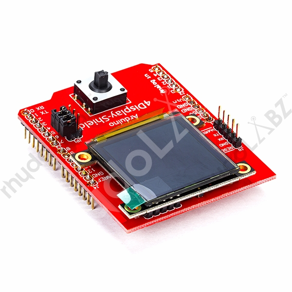 1 5 OLED Display Shield for Arduino