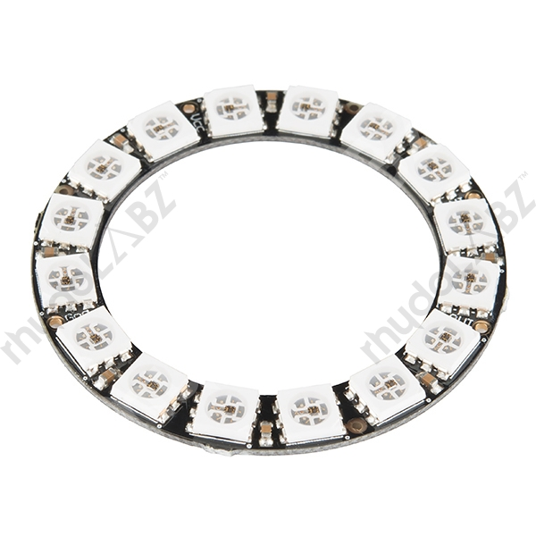 NeoPixel Ring - 16 x WS2812 5050 RGB LED NeoPixel Ring - 16