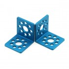 Makeblock Bracket L1-Blue (Pair)