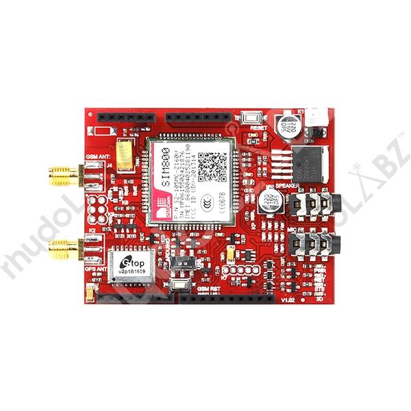 Tracking Shield - GSM/GPRS/GPS (SIM800) : rhydoLABZ INDIA