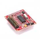 Serial Servo Controller ( USART & SPI) with ADC - rhydoLABZ