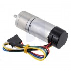 378:1 Metal Gearmotor 25Dx73L mm LP 12V with 48 CPR Encoder